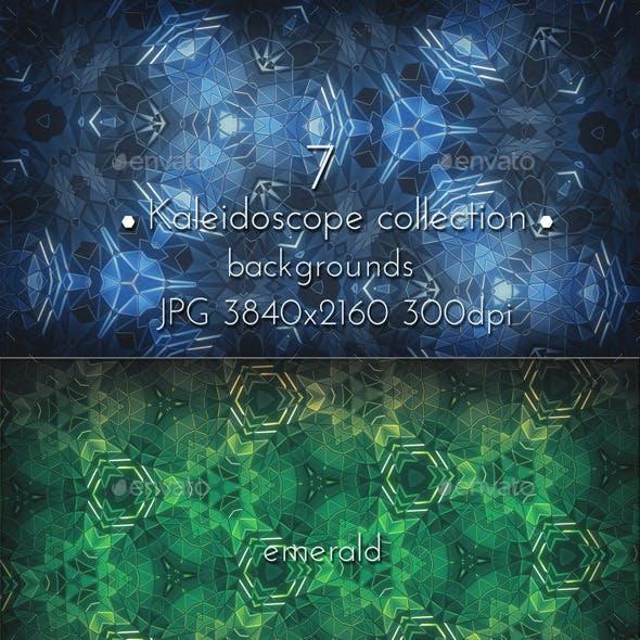 Kaleidoscope Mosaic Patterns