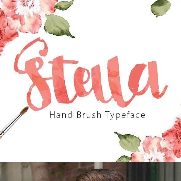 Stella Hand Typeface
