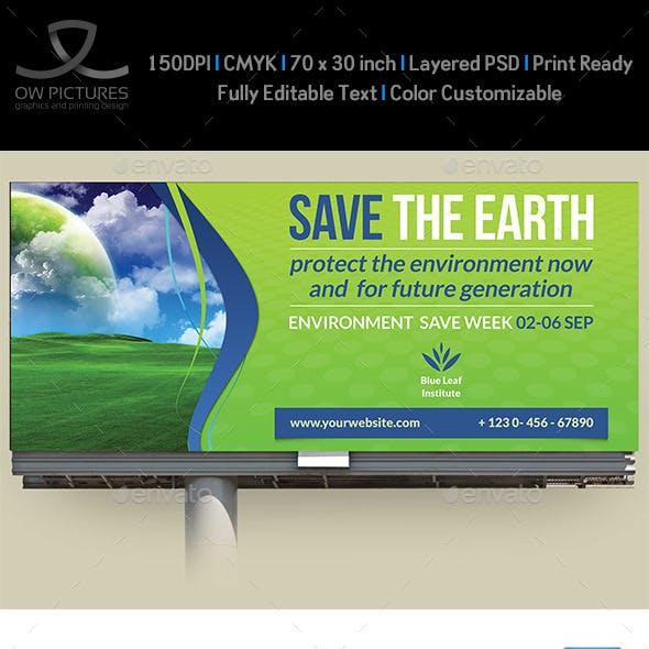 Environment / ECO Billboard Template