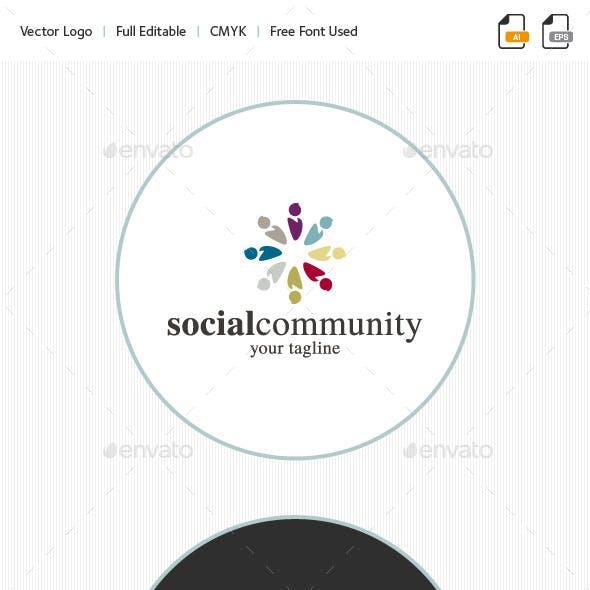 Social Community Logo