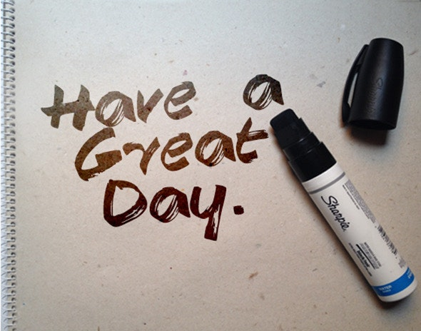 Have a Great Day - Grunge Decorative