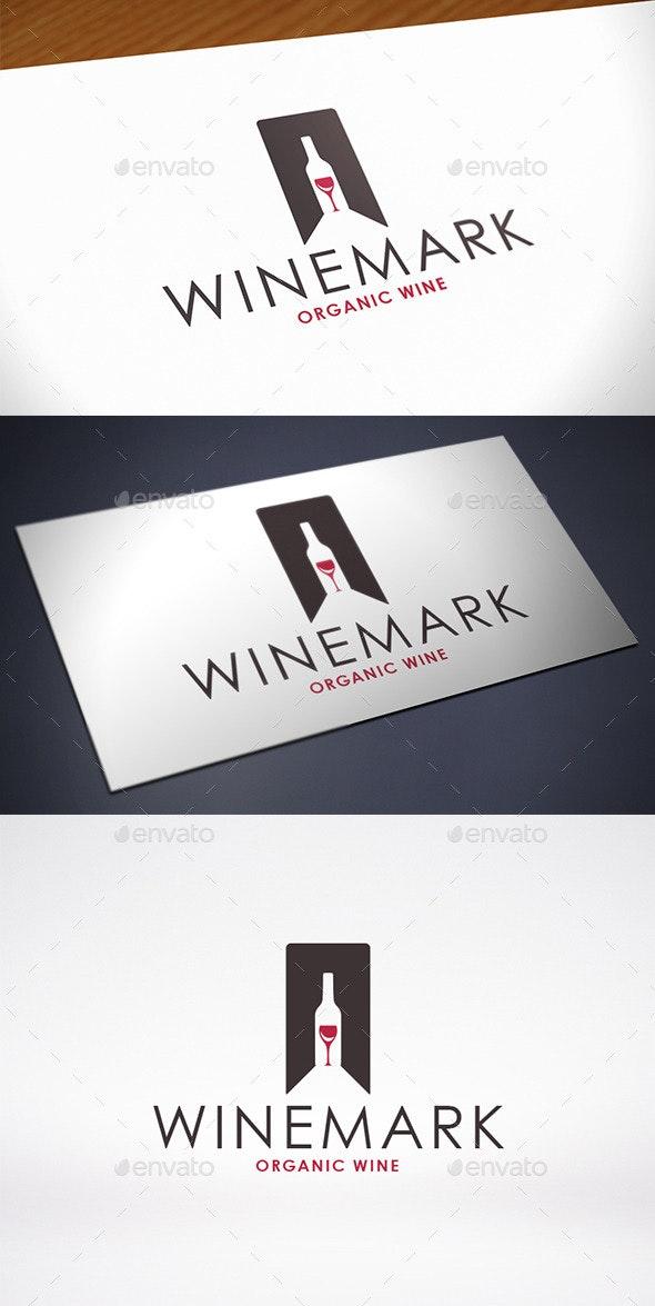 Favorite Wine Logo Template