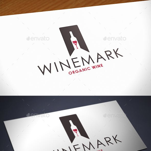 Favorite Wine Logo Template