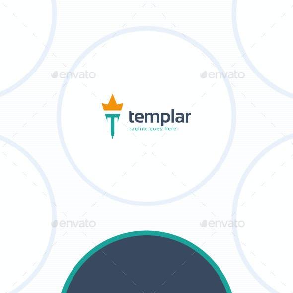 Templar Logo - Letter T
