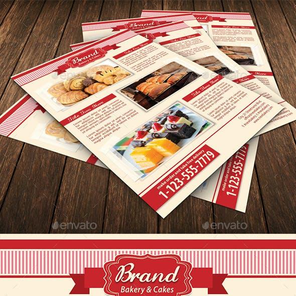 Bakery Food Flyer Template 93