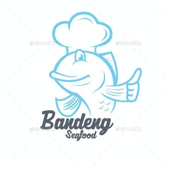 Bandeng Seafood Logo Templates