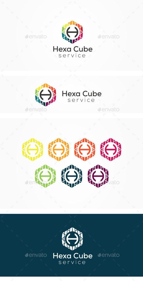Hexa H Logo - Letters Logo Templates