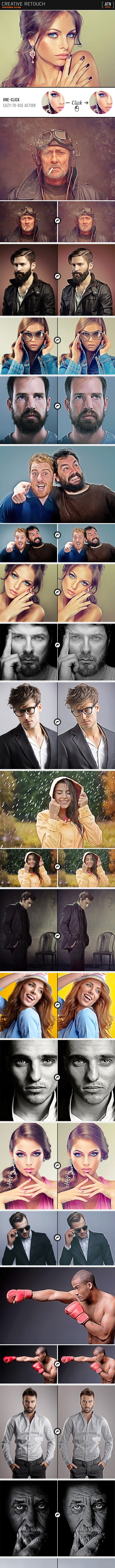Creative Retouch - Photo Effects Actions