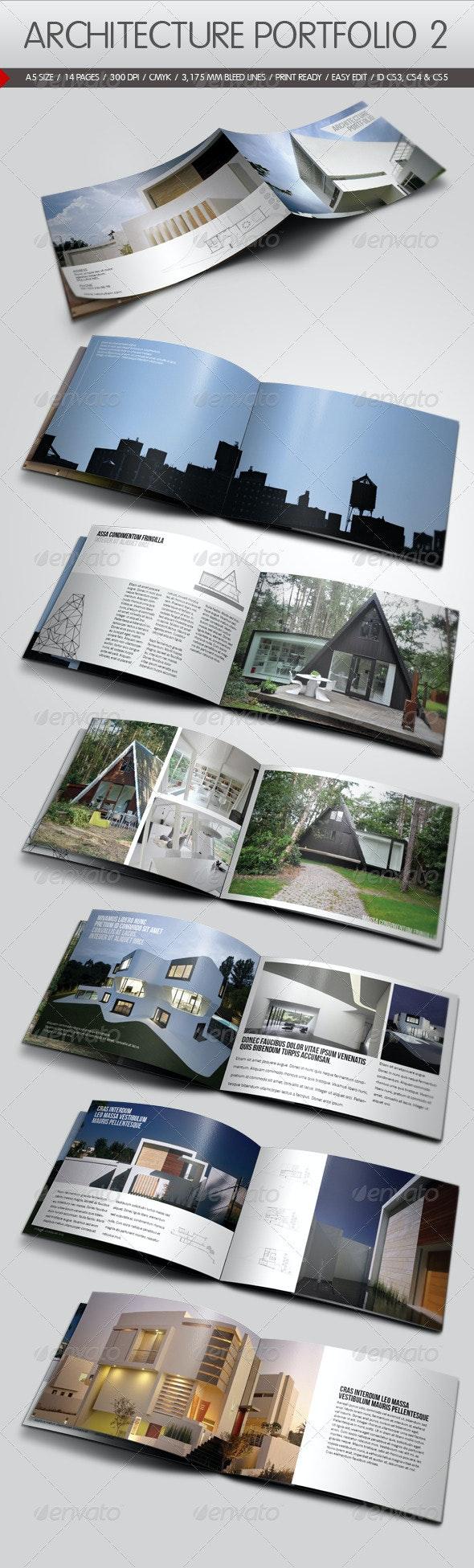 Architecture Portfolio II - Portfolio Brochures