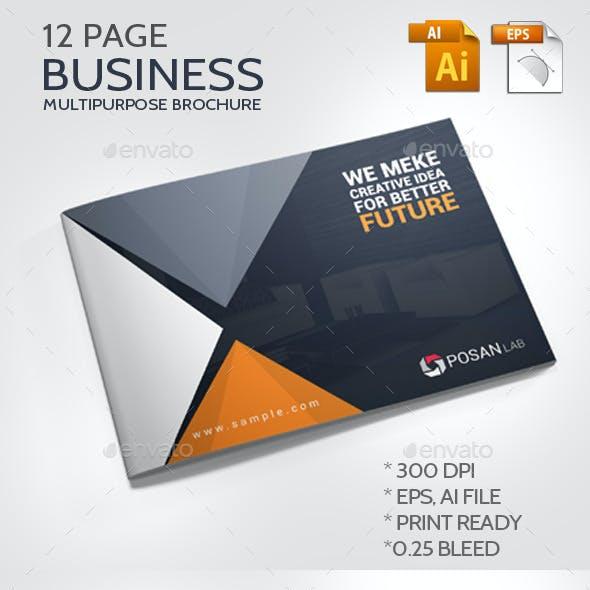 Business Multipurpose Brochure