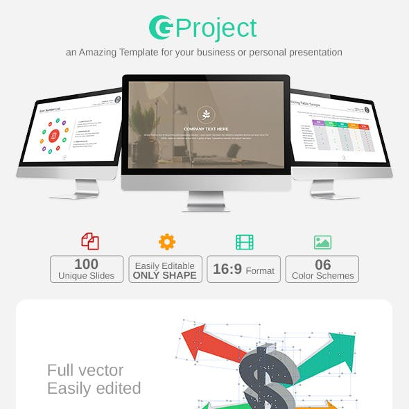GProject PowerPoint Template