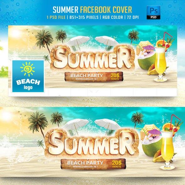 Summer Facebook Cover