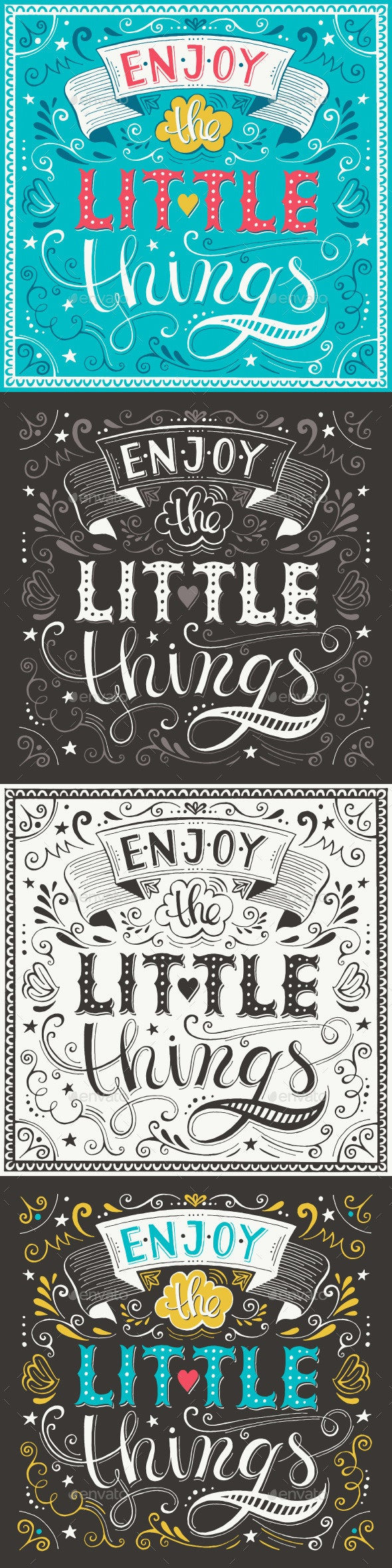 Hand Lettering Motivational Posters - Retro Technology