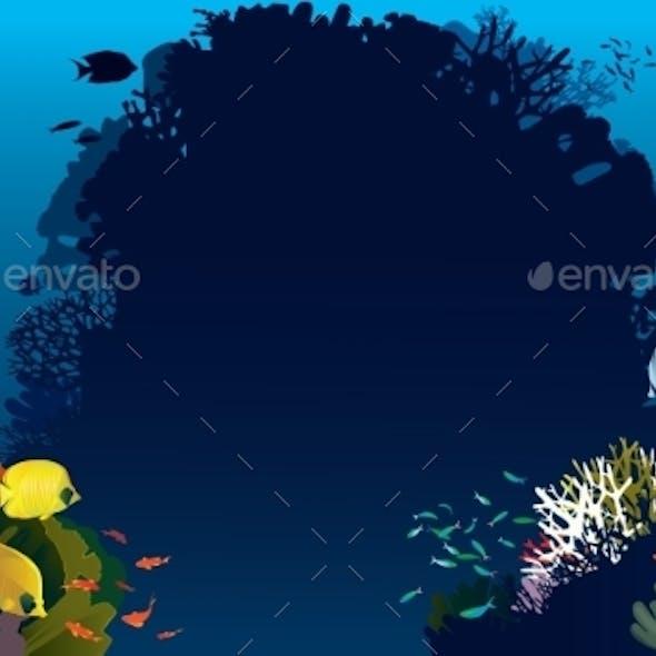 Bannerfish In Corals