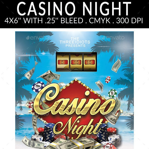 Summer Casino Flyer