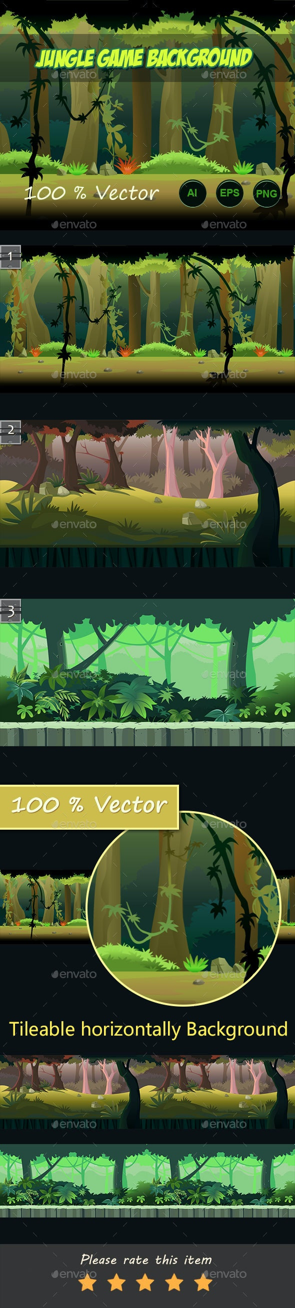 jungle run game background - Backgrounds Game Assets