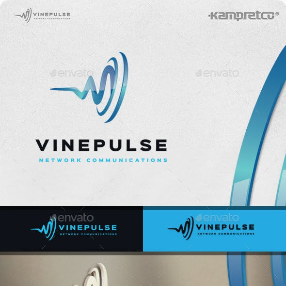 Vine Pulse Logo