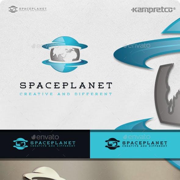 Space Planet Logo