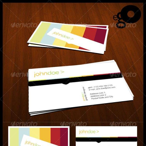 Ego n1 - Elegant Business Card