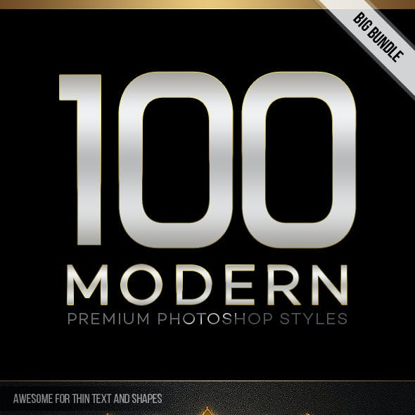 100 Modern Styles Big Bundle