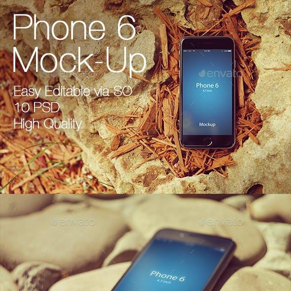 Phone 6 Mockup v3