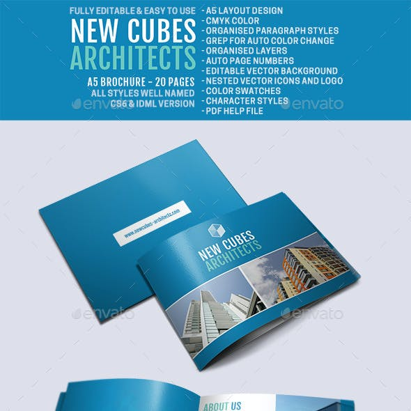 New Cubes Architects Brochure
