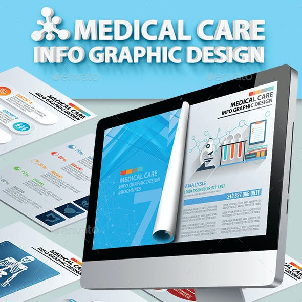 56 Page Medical and Healthy Infographic Design