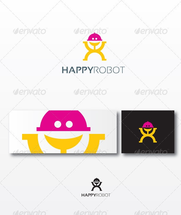 HappyRobot Logo Template - Humans Logo Templates