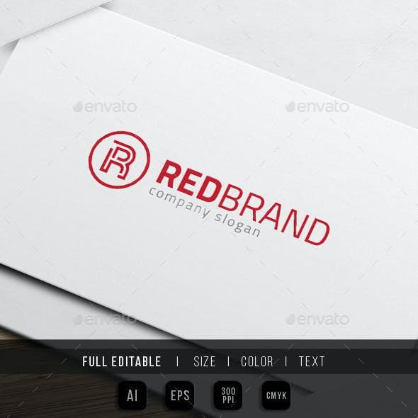 Red Brand - Finance Marketing Group - R Logo
