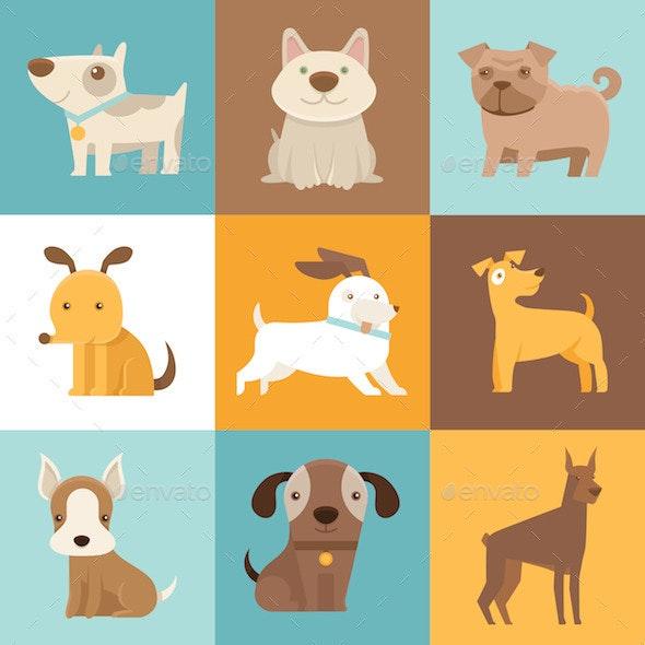 Cartoon Dogs - Animals Characters