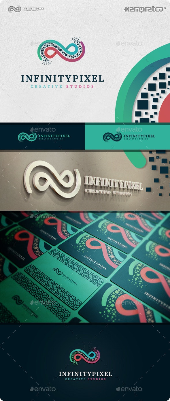Infinity Logo - Vector Abstract