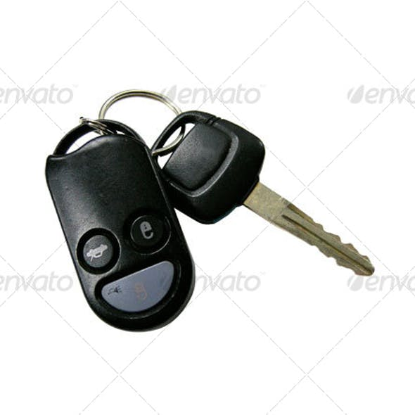 car keys with remote lock