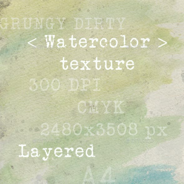 Dirty watercolor texture