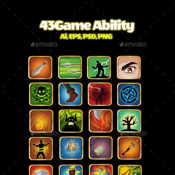 43 Game Ability Icon