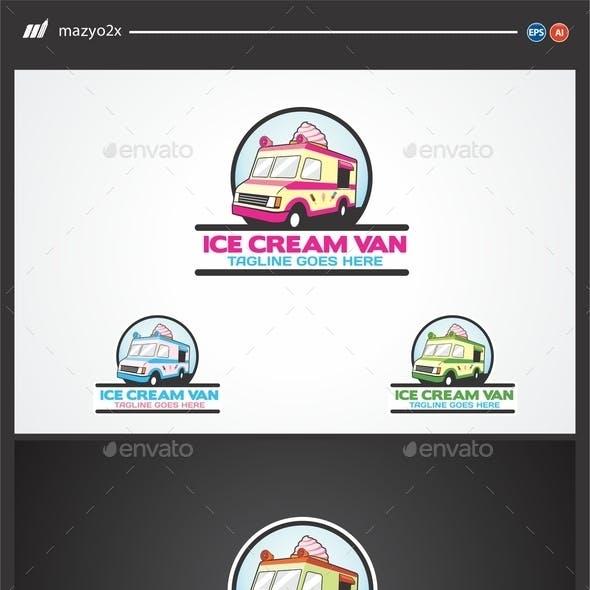 Ice Cream Van Logo