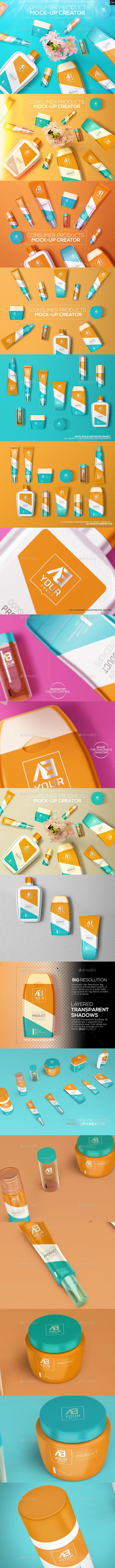 Consumer Products Mock-up - Miscellaneous Packaging