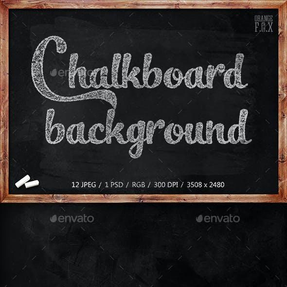 12 Chalkboard Backgrounds