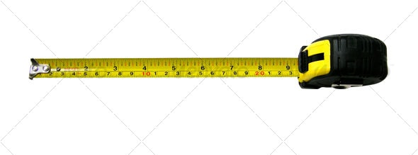 measuring tape - Industrial & Science Isolated Objects