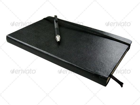 Notebook or sketchbook
