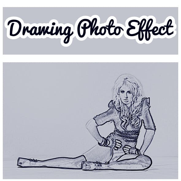 Drawing Photo Effect