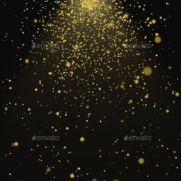 Abstract 3D Rendering Of Chaotic Particles