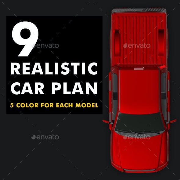 Car Plan View Set