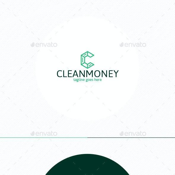 Clean Money Logo • Letter C