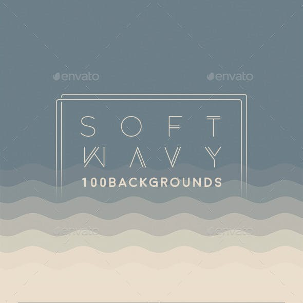 100 Soft Wavy Backgrounds