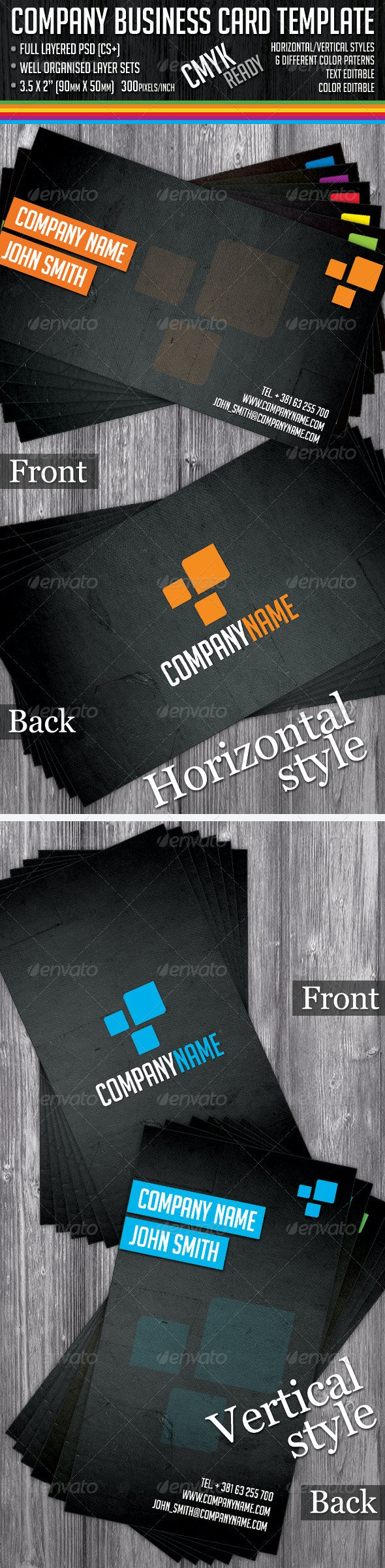 Universal Business Cards - Creative Business Cards