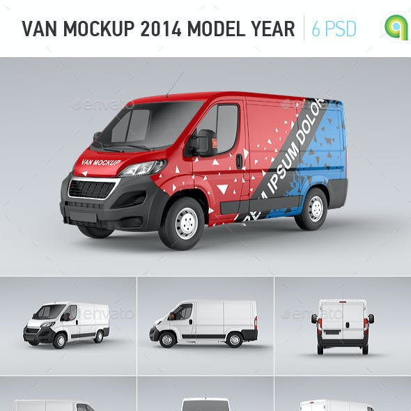 Van Mock-up 2014 Model Year