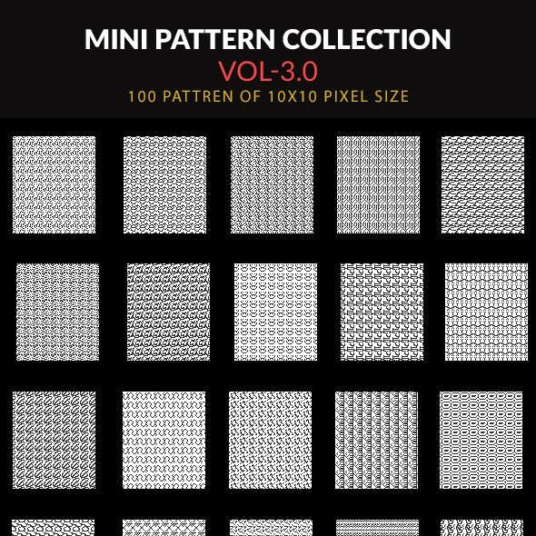 100 Mini Pattern Collection Vol- 3.0