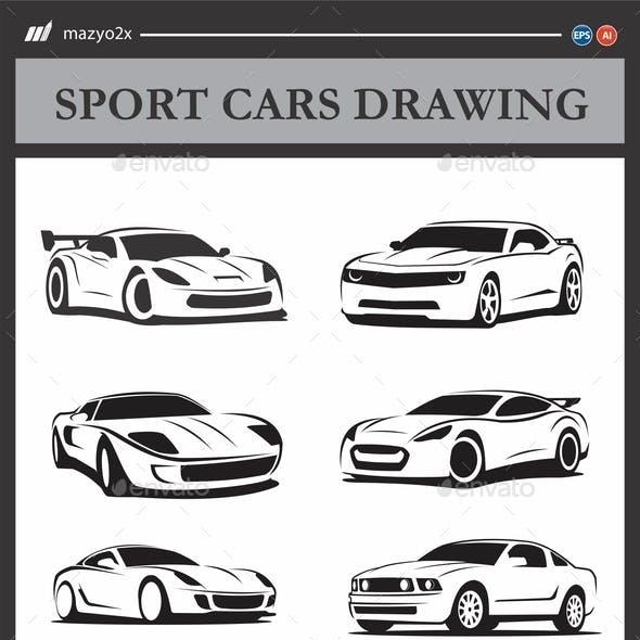 Sport Cars Drawing