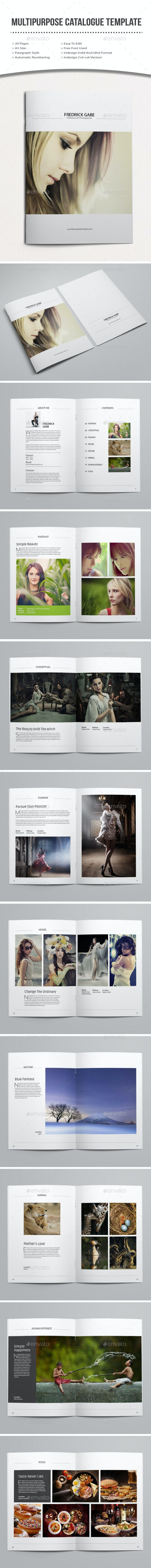 Minimal Photography Portfolio Brochure - Portfolio Brochures