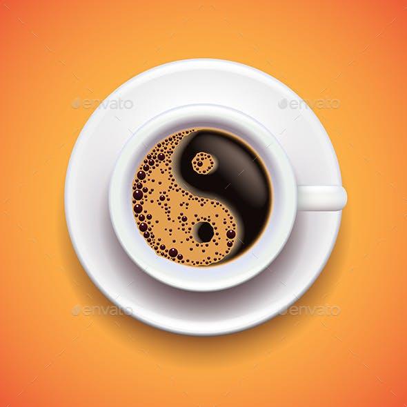 Yin-Yang Coffee Cup